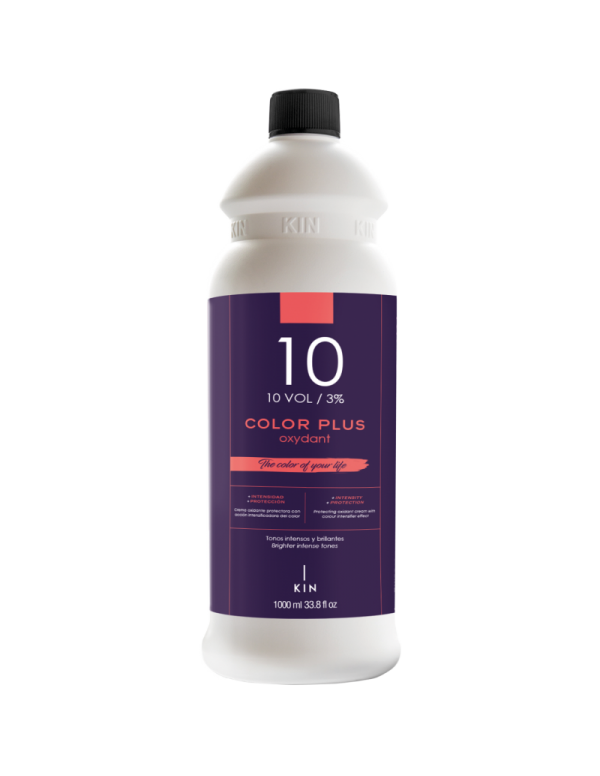 Kin color plus oxydant 10vol 3% 1000ml