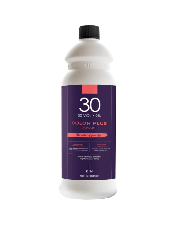 Kin color plus oxydant 30vol 9% 1000ml